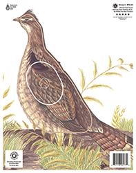 Maple Leaf NFAA Animal Faces Group 4 Grouse