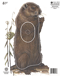 Maple Leaf NFAA Animal Faces Group 4 Woodchuck