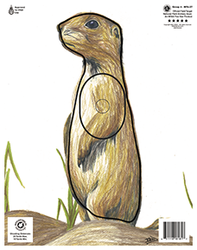 Maple Leaf NFAA Animal Faces Group 4 Prairie Dog