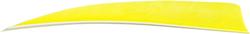 Trueflight Shield Cut Feathers Chartreuse 5 in. RW 100 pk.