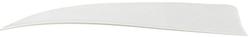 Trueflight Shield Cut Feathers White 5 in. LW 100 pk.