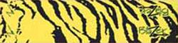 Blazer Carbon Wrap Yellow Tiger