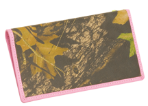 Womens Checkbook Breakup Camo w/Pink