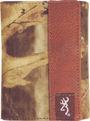Browning Camo Tri-Fold Wallet