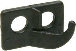 OMP 2 Hole Rest Black Left Hand