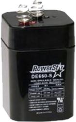 * Powerstar 6V 5AMP Rechargeable Battery
