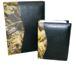 Leather 100 Photo Album Breakup Camo