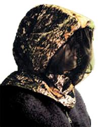 Headnet w/Face Shield Breakup Large/XLarge