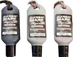 Carbomask 1oz Shadow Blk/Sage Brush Grn/Desert Tan Face Paint