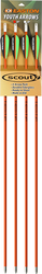 "Scout II Fiberglass Arrow 26"" w/3"" Vanes"