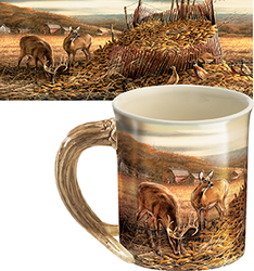 Wild Wings Sculpted Mug Sharing the Bounty