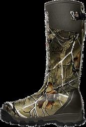 "Alpha Burly Pro 18"" Realtree Xtra Green Boots Size 8"