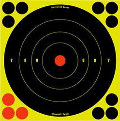 Birchwood Casey Shoot-N-C Target Bullseye 8in 6pk