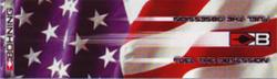 """Blazer Wrap 4"""" Stars & Stripes HD"""