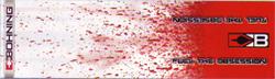 """Blazer Wrap 4"""" White Splatter HD"""