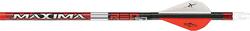 Maxima Red SD 250 Arrows w/Blazer Vanes / Inserts Loose