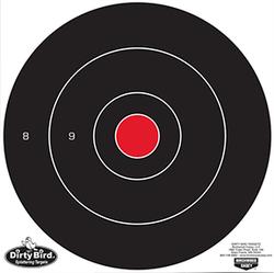 Birchwood Casey Dirty Bird Target Bullseye 12in 12pk