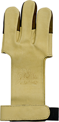 October Mountain Shooters Glove Tan Small