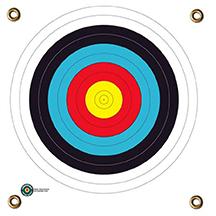 Arrowmat XL Foam Target Face 4 Color Round 34x34 in.