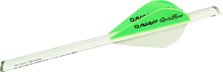 "NAP 2"" Speed Hunter Quikfletch White/Green/Green"
