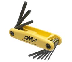 "OMP Pro Shop Hex Wrench Set 5/64"" - 1/4"""