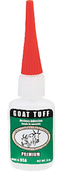* Goat Tuff Glue 1/2oz Bottle