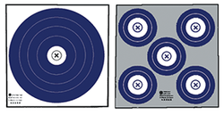 Maple Leaf Target Face NFAA Double Sided Indoor 100pk