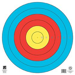 Maple Leaf FITA Target 6-Ring 80cm 1pk.