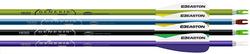 Easton Genesis Arrows Purple/Black/Green 1820 72 pk
