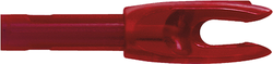 G 4mm Nock Large Groove Deep Red