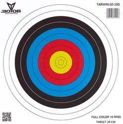 30-06 Mini Paper Targets 10 Ring 100 pk.