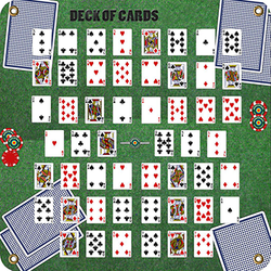 Arrowmat XL Foam Target Face Deck of Cards 34x34 in.