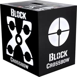 Block Black Crossbow Target 20
