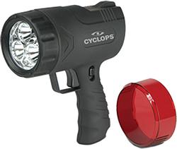 Cyclops Sirus 500 Lumen Hand Held Rechargeable Light