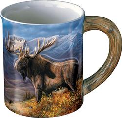 Wild Wings Sculpted Mug Moose