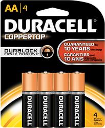 Duracell Coppertop Battery AA 4 pk.