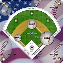 Arrowmat XL Foam Target Face Baseball 34x34 in.