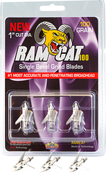 Ramcat Single Bevel Broadhead 100 gr. 3 pk.