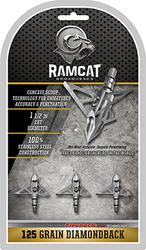Ramcat Diamondback 125 gr. 3 pk.