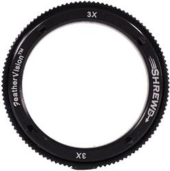 Shrewd 4x Lens with Housing Verde Vitri 29mm Mini Mag