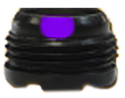 "S&S 5/16"" Aperture w/#5 Verifier Purple"
