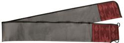 Neet T-RC-B Recurve Bow Case Grey/Burgandy 66 in.