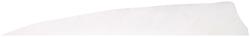 Gateway Shield Cut Feathers White 5 in. RW 100 pk.