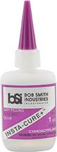 * Bob Smith Insta-Cure Plus Glue 1 oz.