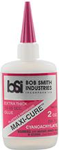 * Bob Smith Maxi-Cure Glue 2 oz.