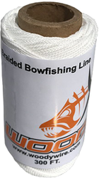 Woody Wire Bowfishing Braided Line 300 ft.