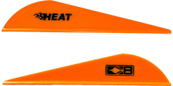 Bohning Heat Neon Orange Vanes 36 pk.