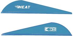Bohning Heat Satin Blue Vanes 36 pk.