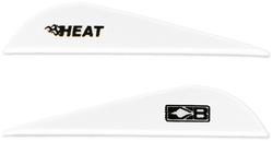 Bohning Heat White Vanes 36 pk.
