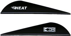 Bohning Heat Vanes Black 36 pk.
